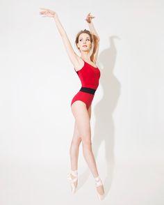 Ballet Girls, Ballet Dance, Ballet Skirt, Red Leotard, Kinds Of Dance, Leotards, Gymnastics, Collection, Fashion