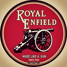 MADE LIKE A GUN! Since 1893 actually. #royalenfield #madelikeagun #motorcycle #spreadyourlove #tradição