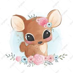 Cute Deer Sitting In Bushes, Baby, Animal, Cute PNG and Vector with Transparent Background for Free Kawaii Drawings, Disney Drawings, Easy Drawings, Cute Animal Drawings Kawaii, Drawing Disney, Hirsch Illustration, Cute Animal Illustration, Illustration Art, Cartoon Cartoon