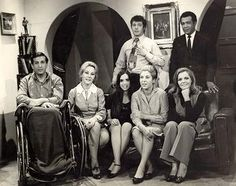 Elio Rubens, Cristina Martínez, Raquel Castaño, Amalia Pérez Díaz, América Alonso, Guillermito González, Tomás Henríquez.