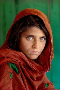 La niña afgana.