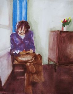 Joan - Esther te Brake Composition with tulips