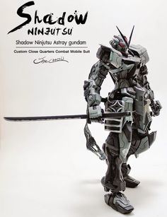 POINTNET.COM.HK - MG 1/100 Shadow Ninjutsu Astray Gundam