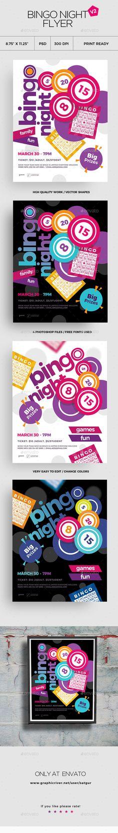 107 Best Bingo Night Images On Pinterest Auction Items Silent