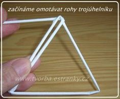 tvorba - návody - návod na hvězdičku Recycled Paper Crafts, Origami, Deco, Tableware, Paper Basket, Journaling, Ideas, Hampers, Paper Envelopes