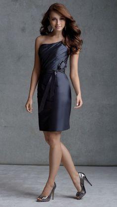 Angelina Faccenda 20402 Short Bridesmaid Dress by Mori Lee