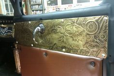 Cool door panels of a steampunk Rat Rod. I want, I want, I want!!!!Steampunk Truck -- Critiques Welcome - The Steampunk Empire