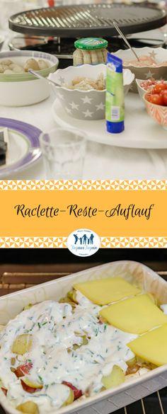 Raclette-Reste in einem leckeren Raclette-Reste-Auflauf verwerten. #raclette #reste #kochen #Auflauf #rezept