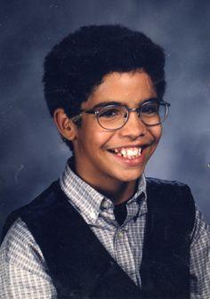 Aubrey Graham, such a cute kid