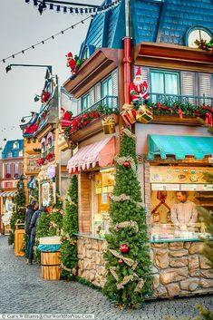 The Village at Burgplatz, Düsseldorf, Germany i like the festive nature Christmas In Germany, German Christmas Markets, Christmas In Europe, Christmas Town, Christmas Travel, Christmas Scenes, Christmas Holidays, Christmas Decorations, German Markets