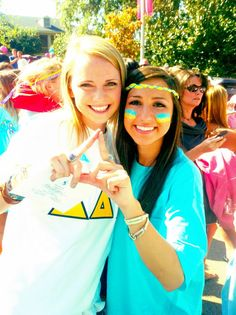 Tri Delta throwing what they know