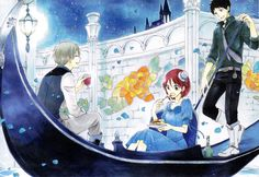 Obi, Shirayuki y Zen // Akagami no Shirayukihime-Snow White with the Red Hair Manga Art, Manga Anime, Anime Art, Zen Wisteria, Grimgar, Akagami No Shirayukihime, Snow White With The Red Hair, Natsume Yuujinchou, Red Apple