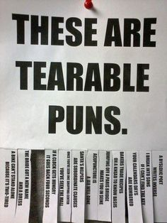 Everyone likes a pun. | 25 Puns So Terrible They Should Be Made Illegal