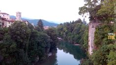 2014, week 33. Natisone River, view from Devil's Bridge, Cividale del Friuli - Italy.  Picture taken: 2014, 07