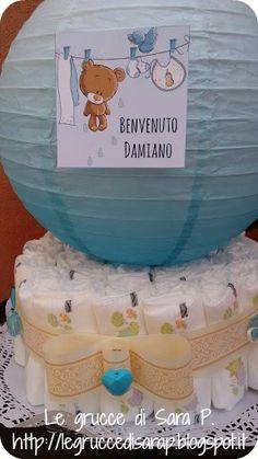 Torta di pannolini per Damiano