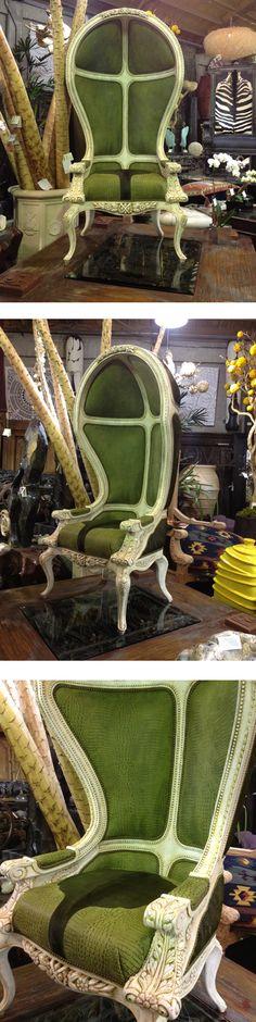 Alice in Wonderland - Custom Chair   by Designers Views  www.designersviews.com