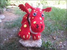 Norville from Wallykazam - Crochet Pattern and Custom Norvilles available on Ravelry, Craftsy, and Etsy.