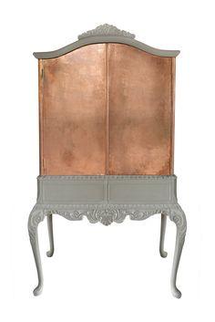copper cabinet …….