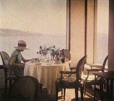 Jaques-Henri Lartigue, Bibi at The New Eden Roc Restaurant, Cap d'Antibes