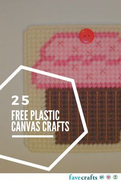 25 Free Patterns for Plastic Canvas - Check out our plastic canvas patterns and get to stitching something to love.
