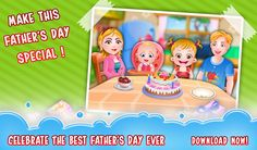It's Father's Day! Let's help Baby Hazel in surprising her dad with joyful celebration and make this day memorable. https://play.google.com/store/apps/details?id=air.org.axisentertainment.BabyHazelFathersDay
