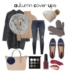 """Autumn Cover Ups"" by ameliekaced on Polyvore featuring Joop!, Totême, Black Orchid, London Rebel, SOREL, John Lewis, Laundromat, Charlotte Russe, MAC Cosmetics and Kester Black"