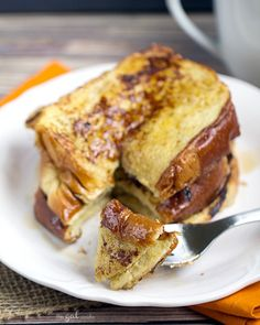 Coffee Creamer French Toast - This Gal Cooks #breakfast #frenchtoast #easyrecipes