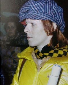 Bowie at Zoo Station, Berlin 1973.
