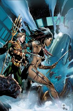 Aquaman and the Others Art by Ivan Reis