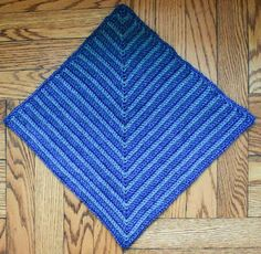 Mitered Square Pet Blanket - What a cute crochet blanket pattern for your cat or dog!