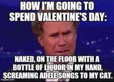 How I'm spending Valentines Day