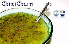 ChimiChurri - LAS SALSAS DE LA VIDA  con ajo con orégano con perejil para carnes para ensaladas para pescados salsas de Argentina salsas de Uruguay