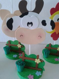termoativo e anti frizz planta Farm Crafts, Diy And Crafts, Crafts For Kids, Farm Animal Party, Farm Party, Cowboy Party, Farm Birthday, Farm Theme, Party Centerpieces