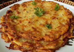 Pivní bramboráky recept - TopRecepty.cz Korn, Lasagna, Food And Drink, Ethnic Recipes, Treats, Sweet Like Candy, Goodies, Sweets, Snacks