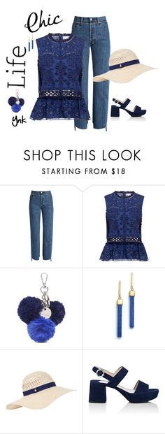 """""""Spring day"""" by ynk24 ❤ liked on Polyvore featuring Vetements, Sea, New York, Nine West, Mateo, Accessorize and Prada"""