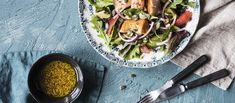 Fresh Rolls, Salad, Ethnic Recipes, Food, Essen, Salads, Meals, Lettuce, Yemek