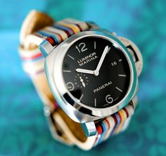 Panerai Luminor 1950 Marina Watch - Very Paul Smith, though he would shave at least 3mm from this doorstop to reign in its Greek island Eurotrash sensibility.