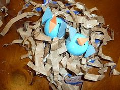 Blue Bird Egg Craft @ Mommy and Me Book Club