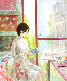 Cartoon Girl Images, Cartoon Art, Watercolor Wallpaper, Watercolor Art, Pretty Art, Cute Art, Manga Pictures, Cute Illustration, Anime Art Girl