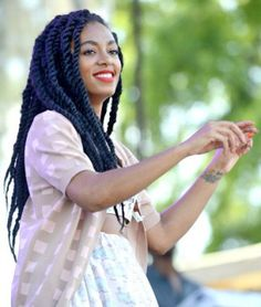 Marley twists for black women - Bing Images Natural Hair Inspiration, Natural Hair Tips, Natural Hair Journey, Natural Hair Styles, Natural Braids, Twist Hairstyles, Protective Hairstyles, Summer Hairstyles, Cool Hairstyles