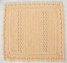 Free Cotton Dishcloth Crochet Pattern