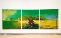 "Lisa Yuskavage, ""Triptych"" (2011) Looking Beyond the Obvious in Lisa Yuskavage's Mighty Paintings"