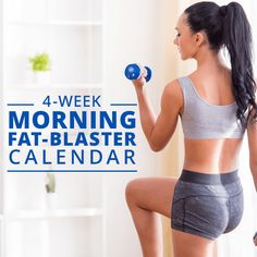 Morning Fat Blaster Calendar - Fitness Little Best Workout Plan, Workout Challenge, Workout Plans, Track Workout, Workout Fitness, Workout Tips, Best Weight Loss, Weight Loss Tips, Lose Weight