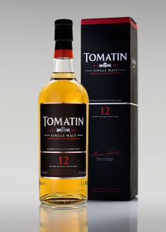 Tomatin 12 Year - A unique combination of attractive flavors – a balance of apples, pears and malt with a gentle hint of nuttiness introduced by the subtle use of sherry wood. Very smooth and silky.