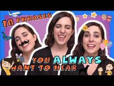 10 Spanish Phrases You Always Want to Hear - YouTube
