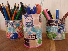 Cute way to both use much loved scraps and organize- winning!