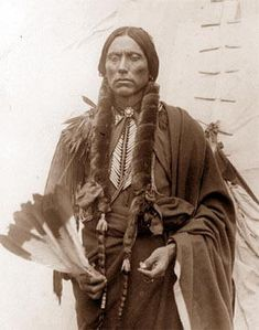 Quanah Parker, Comanche Chief  Comanche Indians, a roving and war-like tribe of North American Indians of the Shoshone family who, when first known, inhabited the region from the headwaters of the Brazos and Colorado rivers to those of the Arkansas and Missouri, some of their bands penetrating to Santa Fe, in New Mexico, and to Durango, in Mexico.