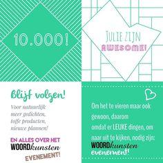 Trommelgeroffel! Een heus WOORDKUNSTEN EVENEMENT! Zie blogpost. :-) #woordkunsten #woordkunstenevenement