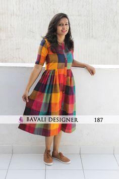 Shop Online Latest Designer Kurtis from Bavali Designer Simple Kurti Designs, Salwar Designs, Kurti Neck Designs, Kurta Designs Women, Dress Neck Designs, Designs For Dresses, Indian Kurtis Designs, Latest Blouse Designs, Sleeve Designs