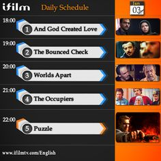 Check out  today's #iFilm schedule.